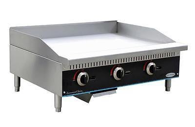 SMG-36 Serv-Ware – Countertop Griddle, 36 in., (3) Burners