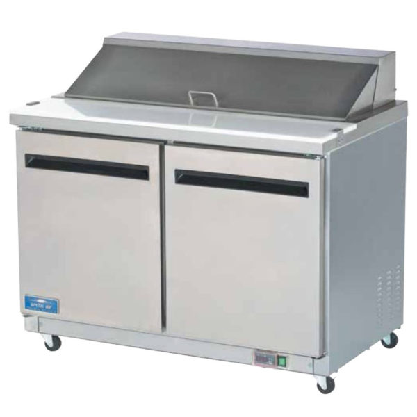 AMTR Mega Top Sandwich Prep Table By Arctic Air American - Commercial sandwich prep table