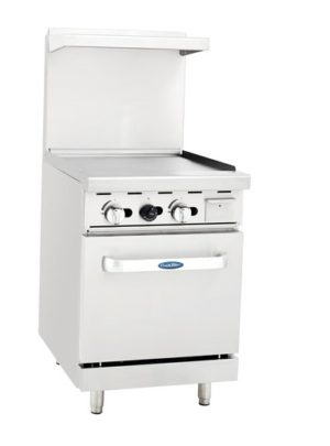 Cook Rite ATO-24G – 24″ Range with 24″ Griddle