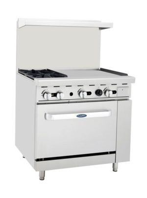 Cook Rite ATO-2B24G – 36″ Range with 24″ Griddle