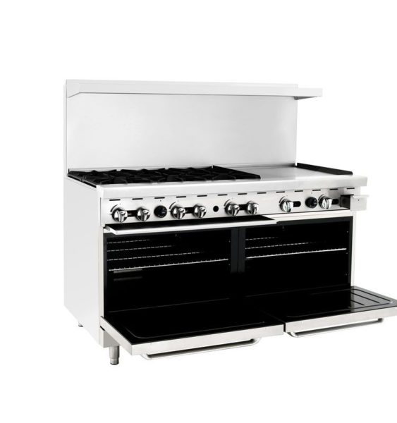 Atosa 6 burner and 24 griddle