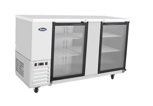 Atosa MBB69G – Glass Door Back Bar Cooler