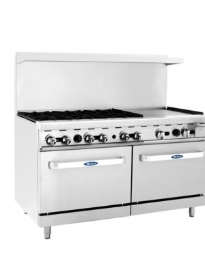 Cook Rite ATO-6B24G – 60″ Range with Griddle