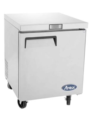 Atosa MGF8401 Single Door Undercounter Refrigerator