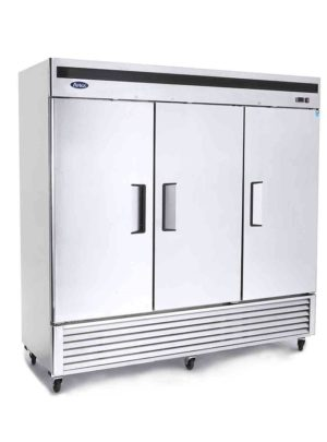 Atosa MBF8504 Three Door Reach in Freezer
