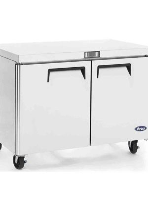 Atosa MGF8406 Two Door Undercounter Freezer