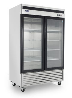 Atosa MCF8707 Two Glass Door Merchandiser Refrigerator