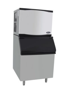 Atosa YR450-AP-161 Ice Machine with Bin