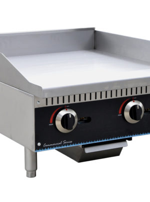 Serv-Ware SMG-24 Griddle, Gas, Countertop