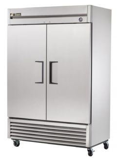 True T-49 Two Door Reach in Refrigerator